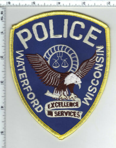 Waterford Police (Wisconsin) Shoulder Patch