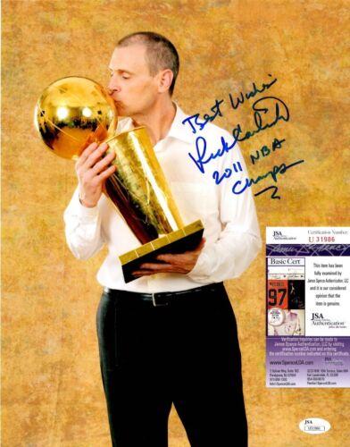 Rick Carlisle Signed 11x14 Photo w/ JSA COA #U31986 Dallas Mavericks