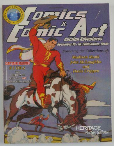 Heritage Auction Galleries: Comics & Comic Art Catalogue #822 Shazam cover