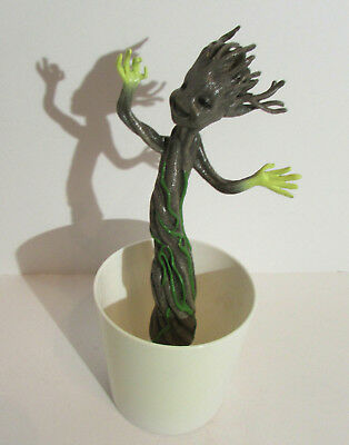 Glowing Flower Pots (Grow and Glow Groot Figure Plant Flower Pot Guardians Of The Galaxy Marvel)