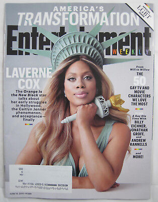 Entertainment Weekly  1368   Laverne Cox  Special Lgbt Issue   19 Jun 2015