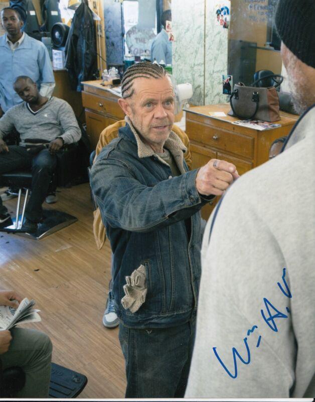 WILLIAM H MACY signed *SHAMELESS* 8X10 photo FRANK GALAGHER (PROOF) W/COA #10