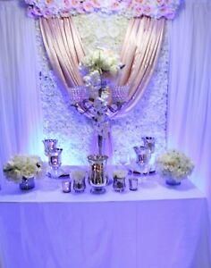 Linen, decor rentals, decorating services