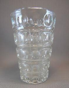 ancien vase en verre souffl art d co vintage style ann es. Black Bedroom Furniture Sets. Home Design Ideas