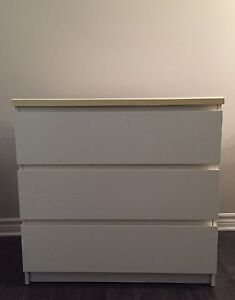 Ikea Malm 3 Drawers for sale