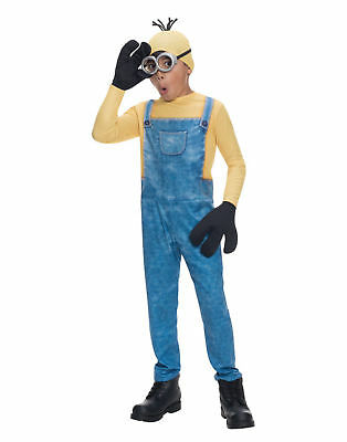 Boy Minion Costume Kevin Costume Disney Minion Suit Rubies 610785 Kids Youth (Minion Costume For Boy)