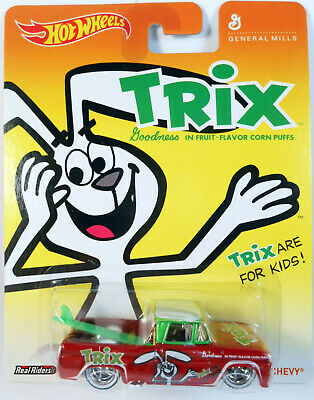 HOT WHEELS 2013 POP CULTURE TRIX CUSTOM '62 CHEVY