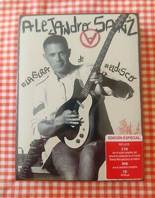 ALEJANDRO SANZ - #LAGIRA DE #ELDISCO - 3 CDS + 1 DVD...
