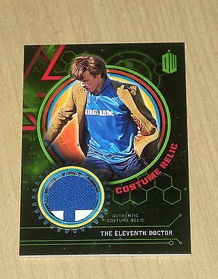Topps Doctor Who Extraterrestrial Encounters costume relic ELEVENTH DOCTOR 1/99 - Eleventh Doctor Costume