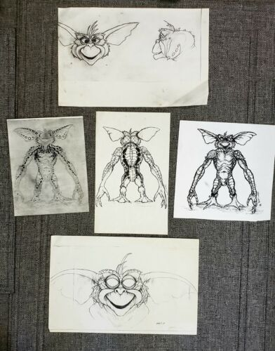 GREMLINS 2: THE NEW BATCH Rick Baker DAFFY COLOR TEST Concept Art