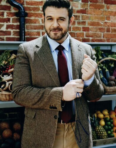 Adam Richman Signed Autographed 8x10 Photo Man Vs. Food  COA VD