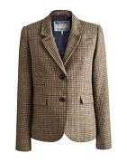 Womens Tweed Blazer