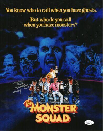 "Michael MacKay Autograph Signed 11x14 Photo - Monster Squad ""Mummy"" (JSA COA)"
