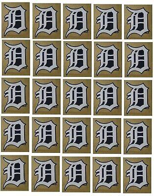 Detroit Tigers Baseball Sticker Set of 25 Team Logo Design Made in the USA