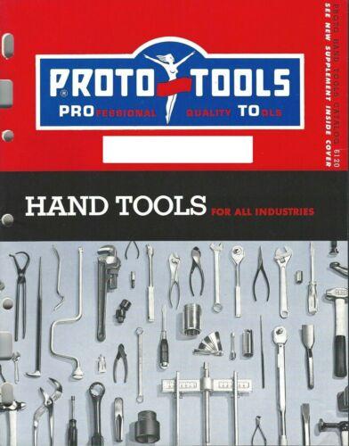 Proto Tools Catalog 6120 1961