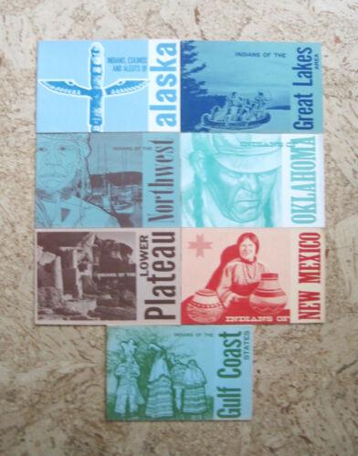 Vintage U.S. Department Of Interior/Bureau of Indian Affairs 7 Booklet Lot 60