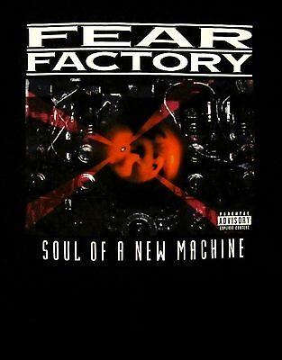 Fear Factory Cd Cvr Soul Of A New Machine Official Shirt Lrg New I Love America
