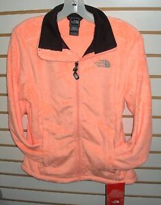 THE-NORTH-FACE-WOMENS-OSITO-FLEECE-JACKET-S-M-L-XL-TWIST-ORANGE-NEW