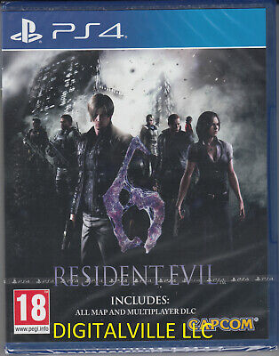 Resident Evil 6 PS4 Brand New Factory Sealed PlayStation 4