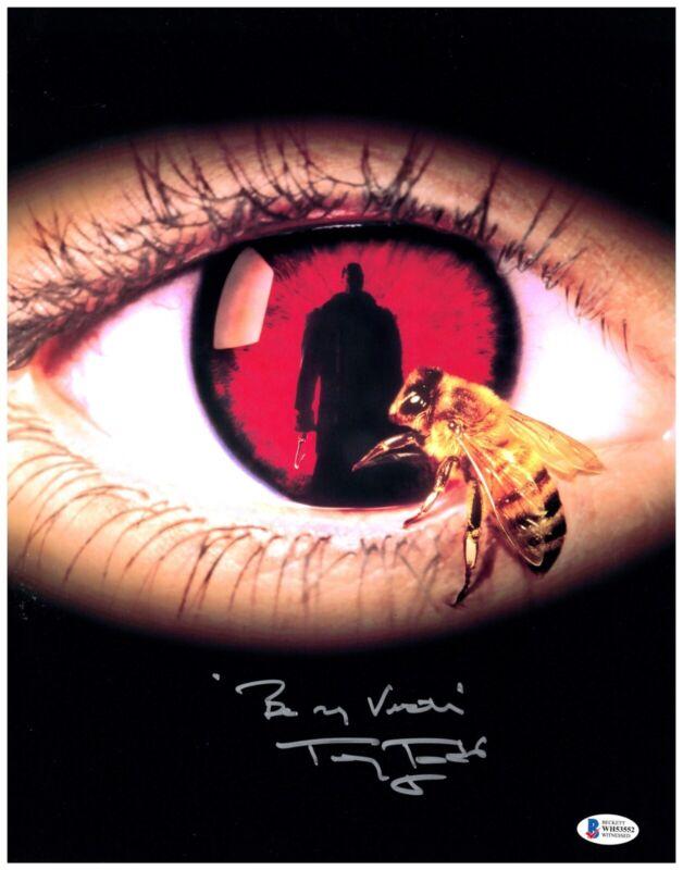 TONY TODD signed 11x14 Photo CANDYMAN Candy Man Horror Movie Beckett Witness