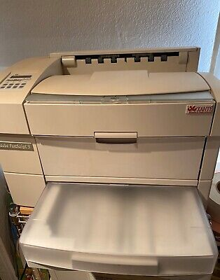 Xante Platemaker 3 Large Format Laser Printer 30k Pages