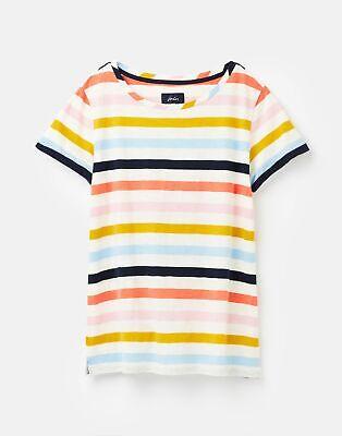 Joules  208570 Lightweight Jersey T Shirt - MULTI STRIPE