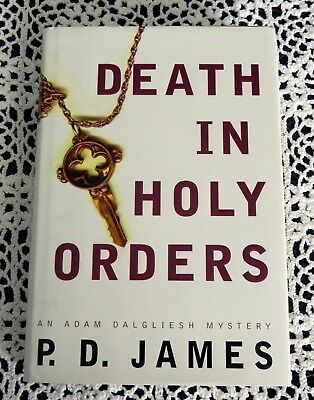 Death In Holy Orders by P. D. James SIGNED Best Selling English Mystery Writer