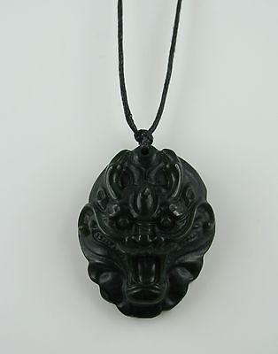 Jade Carving  Drachen Kopf  Drache  Nephrit Jade