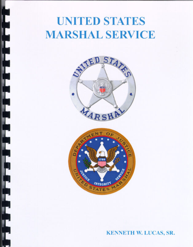 U.S. MARSHAL CHRONOLOGY OF BADGES Booklet by LUCAS
