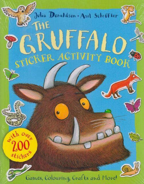 The Gruffalo Sticker Activity Book by Julia Donaldson NEW BOOK (Paperback, 2013)