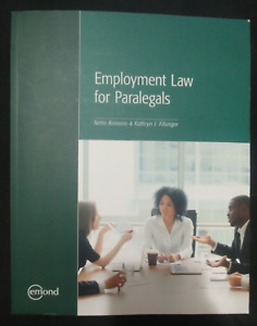 Employment Law for Paralegals
