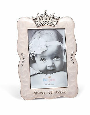 DEMDACO Crown Photo Frame, Always A Princess, - Crown Frame
