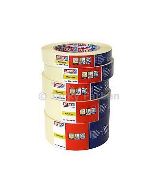Tesa 4348 5 Ro sortiert Tesakrepp 19/25/30/38/50mm Malerkrepp Malerband