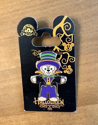 Duffy the Disney Bear Vampire Top Hat Halloween Disneyland Paris DLP DLPR Pin