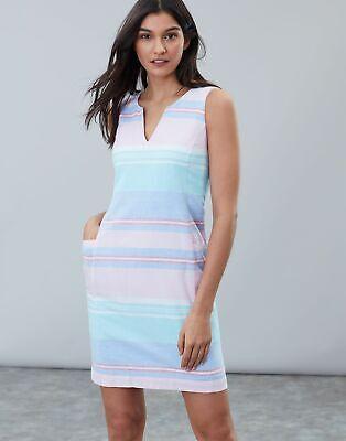 Joules Womens Elayna Shift Dress - MULTI STRIPE