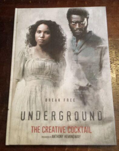 """SIGNED PRESENTATION BOOK TV SHOW """"UNDERGROUND"""" Anthony Hemingway, John Legend"""