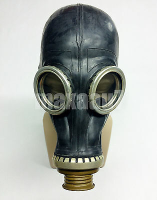 Black rubber gas mask GP-5 size 0 EXTRA SMALL HALLOWEEN scary mask party  - Scary Halloween Gas Mask