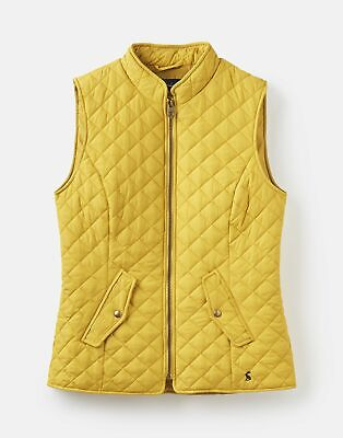 Joules  208741 Quilted Gilet Jacket - ANTIQUE GOLD
