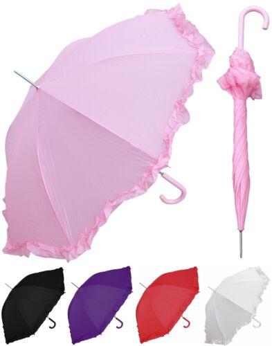 "48"" Arc Parasol Style Auto Umbrella - RainStoppers, Rain/Sun, UV, Costume"
