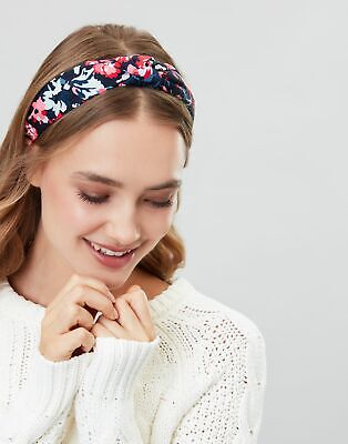 Joules Womens Lovett Headband - NAVY FLORAL in One Size