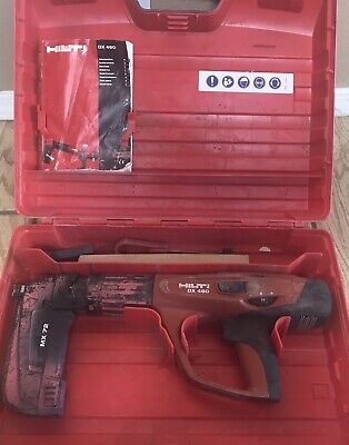 Hilti Dx 460 Powder Actuated Tool