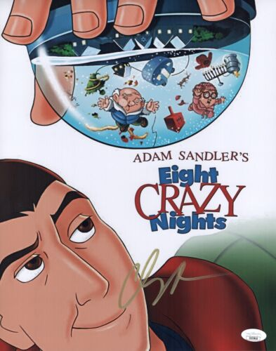 Adam Sandler Signed CRAZY EIGHT NIGHTS 11x14 Photo IN PERSON Autograph JSA COA