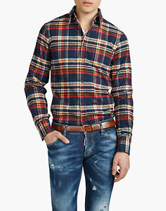 DSQUARED D2 MEN&#039;S FLANNEL COWBOY SHIRT 50 BNWT 100% AUTHENTIC! - <span itemprop='availableAtOrFrom'>Jastrzebie Zdrój, Polska</span> - DSQUARED D2 MEN&#039;S FLANNEL COWBOY SHIRT 50 BNWT 100% AUTHENTIC! - Jastrzebie Zdrój, Polska