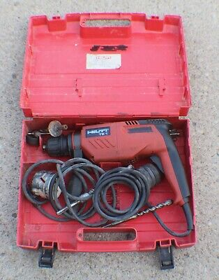 Hilti Te 1 Corded Hammer Drill In Case With Bits