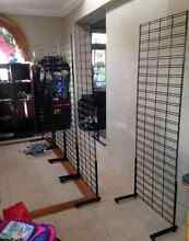 Mesh wall racks stands with arms great for shop market Ascot Brisbane North East Preview