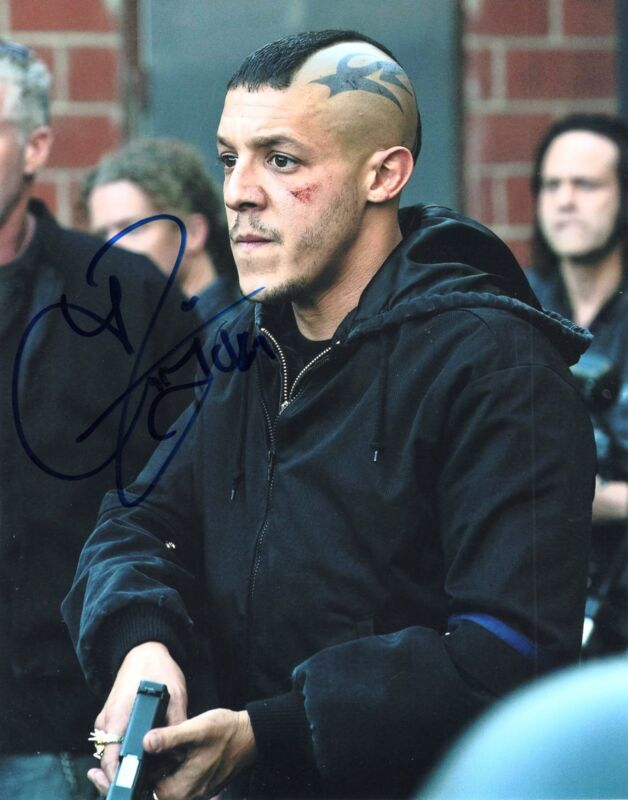 Theo Rossi Sons of Anarchy TV Show Juice Signed 8x10 Photo w/COA A