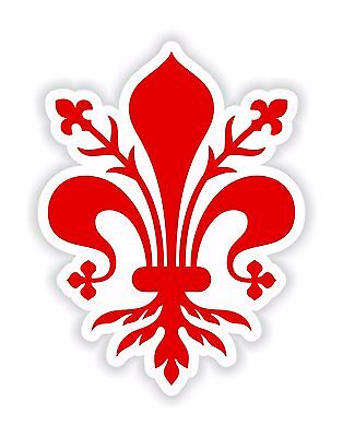 Florence Coat of Arms Sticker Decal for Laptop Tablet Fridge Door Tuscany