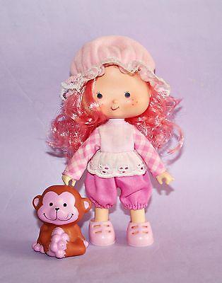 *Raspberry Tart w/ Pet Friend Emily Erdbeer Puppe/Strawberry Shortcake Doll 15cm