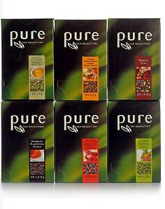 150 x Teebeutel Tchibo PURE Tea Selection Tee Mix Set Loser Tee im Aufgussbeutel