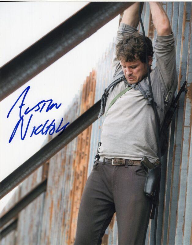 Austin Nichols The Walking Dead Spencer Monroe Signed 8x10 Photo w/COA